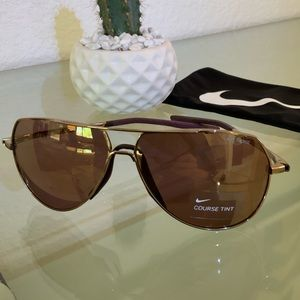 Nike Copper Course Tint Aviator Sunglass